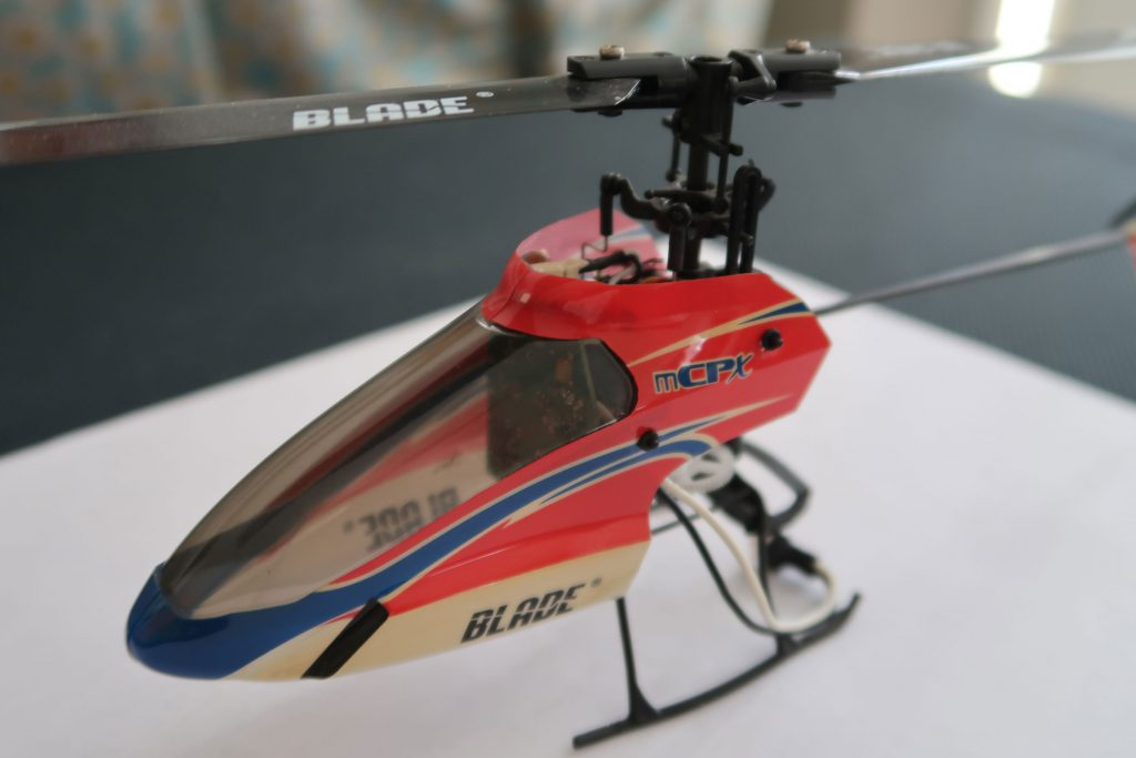 The small Blade mCP X2 looks like a good candidate to finally hover a collective pitch R/C heli