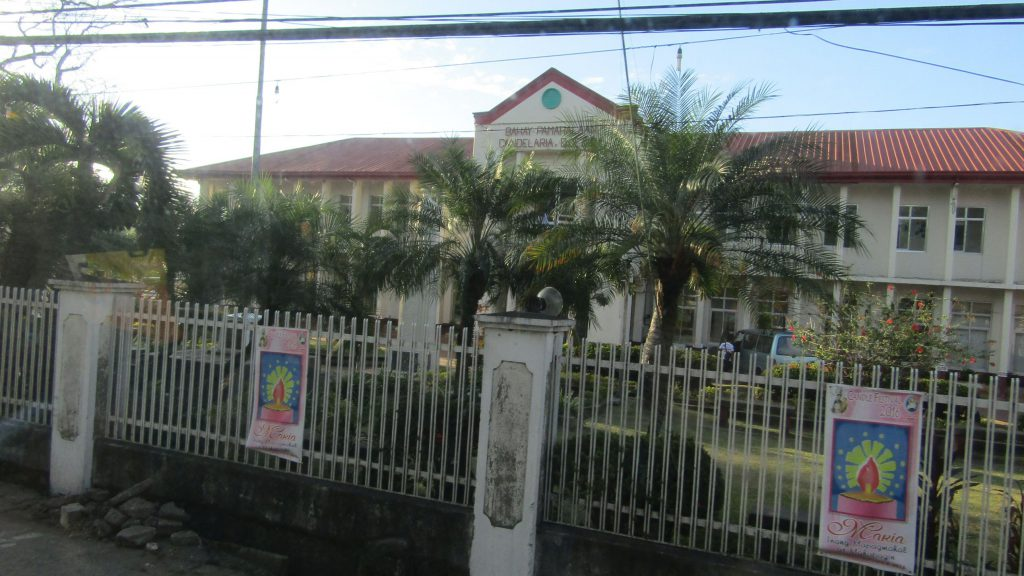 Candelaria town hall -- in the province of Quezon