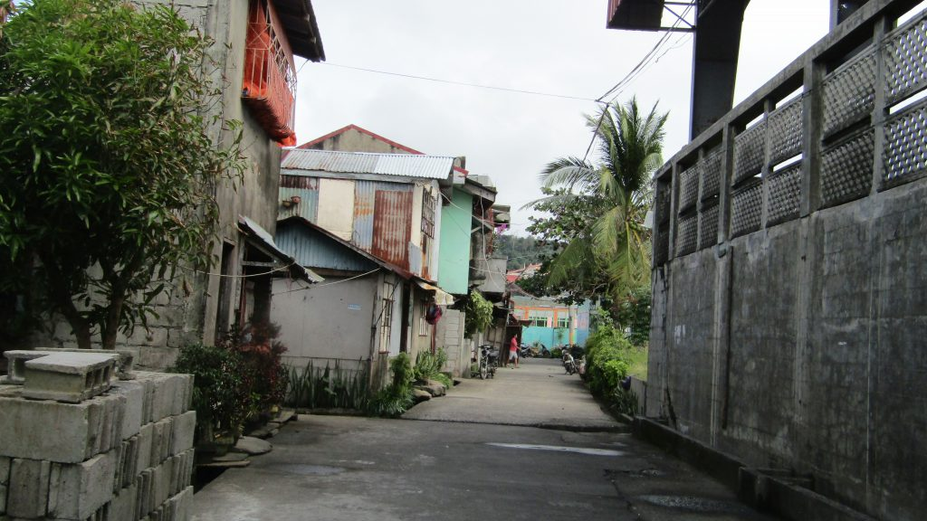 Back streets of Mauban, Quezon