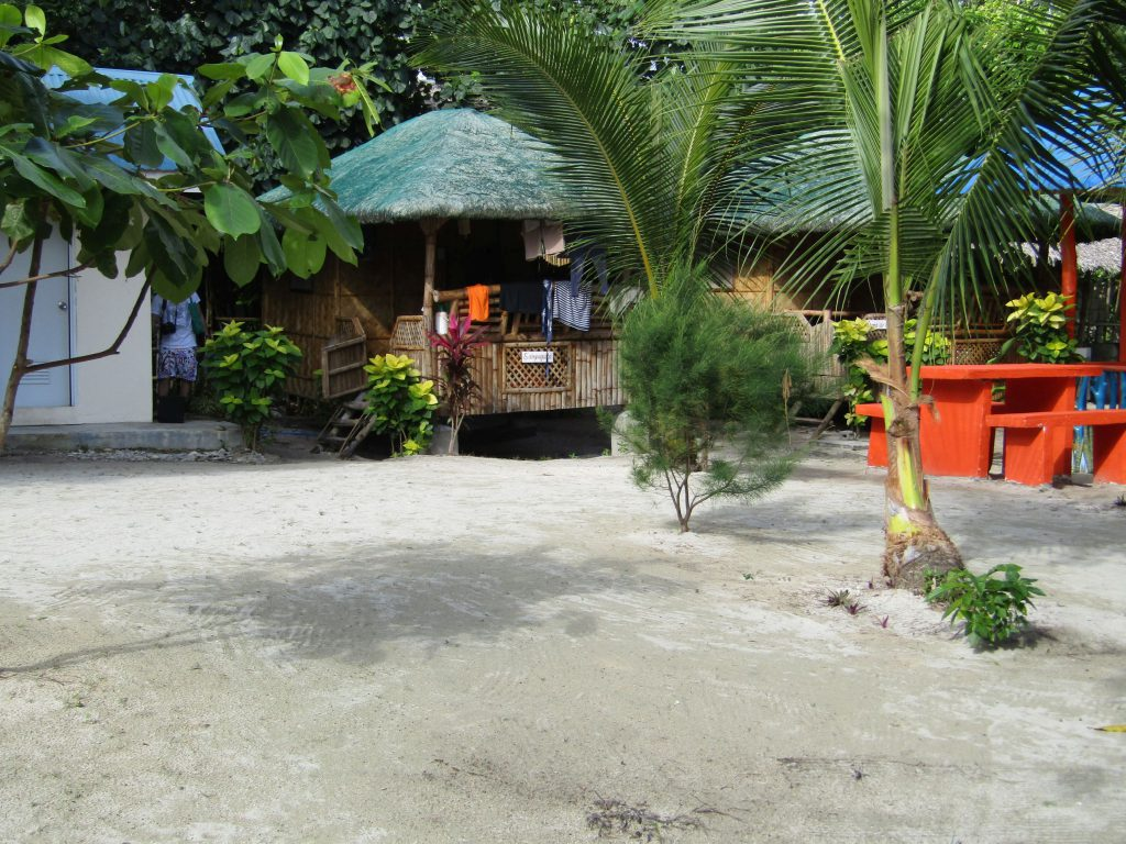 Our 'sampaguita' cottage while at Joven's Blue Beach Resort in Cagbalete Island