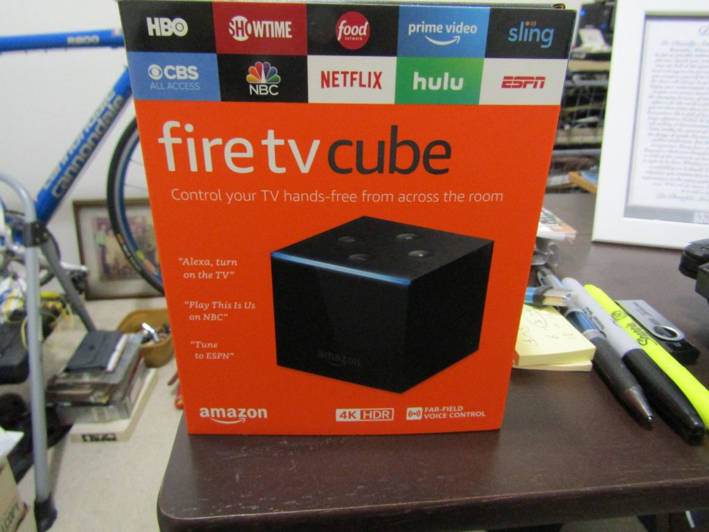 The Fire TV Cube