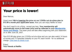 Netflix actually began their streaming service in 2006 for U.S. subscribers.  It now offers this service to several countries in the world